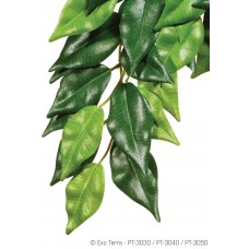 Exo Terra HANGING RAINFOREST PLANTS - Ficus (Silk) Large, изкуствено растение, 22.5 x 62 x 4 cm - ГЕРМАНИЯ - PT3050