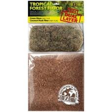 Exo Terra Tropical Forest Floor, постелка за терариуми тропическа гора - 4,4 литра - ГЕРМАНИЯ - PT3114