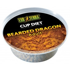Exo Terra CUP DIETS - BEARDED DRAGON - Adult - купи с храна за пораснали агами - 360 g (6 x 60 g) - ГЕРМАНИЯ - PT3200