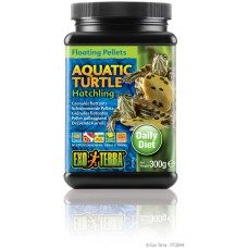 Exo Terra Floating Pellets - Hatchling Aquatic Turtle, храна за новородени водни костетурки - 300 гр - ГЕРМАНИЯ - PT3244
