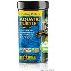 Exo Terra Floating Pellets - Juvenile Aquatic Turtle, храна за подрастващи водни костетурки - 90 гр - ГЕРМАНИЯ - PT3248