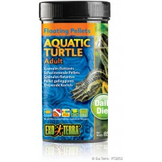 Exo Terra Floating Pellets - Adult Aquatic Turtle, храна за пораснали водни костетурки - 85 гр - ГЕРМАНИЯ - PT3253