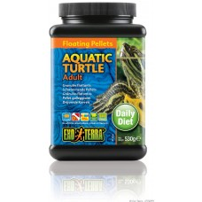 Exo Terra Floating Pellets - Adult Aquatic Turtle, храна за пораснали водни костетурки - 530 гр - ГЕРМАНИЯ - PT3255