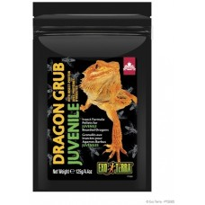 Exo Terra Dragon Grub Insect Formula Pellets for Juvenile Bearded Dragons - храна базирана на насекоми, 125 гр - ГЕРМАНИЯ - PT3265