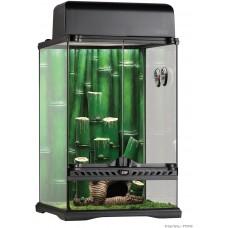 Exo Terra BAMBOO FOREST HABITAT TERRARIUM Small - оборудван терариум от бамбуковите гори, 30 x 30 x 45 cm, ГЕРМАНИЯ - PT3740