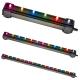 Стена за въздух с многоцветно сменящо се LED осветление 46 см дължина RS-A46