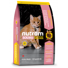S1 Nutram Sound Balanced Wellness® Natural Kitten Food НАСИПНО