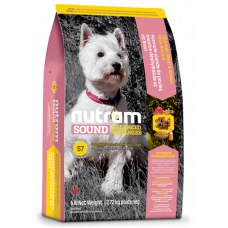 S7 Nutram Sound Balanced Wellness® Small Breed Adult Natural Dog Food За кучета от 1 до 10 години 2.72 кг