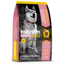 S9 Nutram Sound Balanced Wellness® Adult Lamb Natural Dog Food, Рецепта с агне, ечемик, грах и тиква, за пораснали кучета от 1 до 10 години, Канада - 13,6 кг