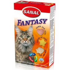 Витамини SANAL Cat Fantasy - с пиле, сьомга и дрожди, 150 гр, Холандия SC1500