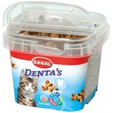 Bites SANAL Cat Denta's - за здрави зъби и венци, 75 гр, Холандия SC1573