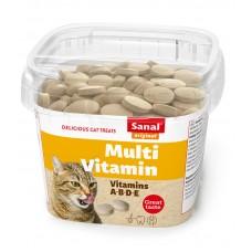 Bites SANAL Cat Multivitamin - с витамин В комплекс, 100 гр, Холандия SC1580
