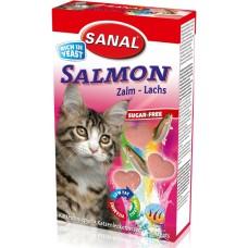 Витамини SANAL Cat Salmon - със сьомга, 50 гр, Холандия SC3300