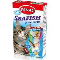 Витамини SANAL Cat Seafish - с морска риба, 50 гр, Холандия SC3400