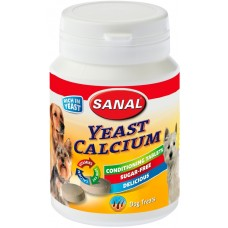 Витамини SANAL Dog Yeast-Calcium 150 гр, Холандия SD2017