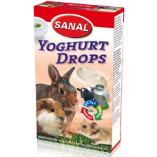 Дропс SANAL Rodent Yoghurt - с йогурт, 45 гр, Холандия SK7200