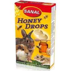 Дропс SANAL Rodent Honey - с мед, 45 гр, Холандия SK7500