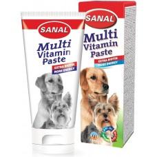 Мултивитаминна паста SANAL Dog при кожни проблеми и сърбеж 100 гр. Холандия SV5100