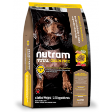 T27 Nutram Total Grain-Free® Turkey, Chicken & Duck Natural Dog Food За малките и дребни породи. Приготвена за всички стадии на живота 6,8 кг