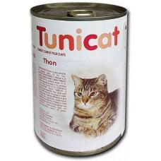 TUNICAT - РИБА ТОН - пълноценна консерва за котки, Испания - 400 гр
