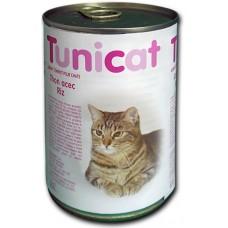 TUNICAT - РИБА ТОН И ОРИЗ - пълноценна консерва за котки, Испания - 400 гр