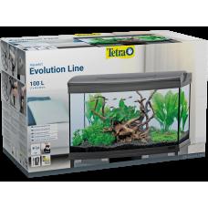 Tetra AquaArt Evolution Line LED anthracite 100 L - оборудван аквариум 77 x 48 x 38 cm