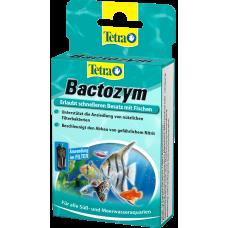 Tetra Bactozym - ускорява биологичната активност в аквариума, само след 24 часа е готов за заселване - 10 капсули