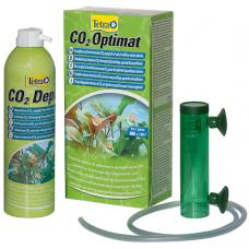 Tetra CO2 Optimat - практичен пълен комплект CO2 за буйни, здрави водни растения
