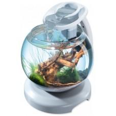 Tetra Duo Waterfall Globe БЯЛ - стъклена колба с хармоничен ефект на водопад - лесна за настройка и поддръжка - 6,8 литра