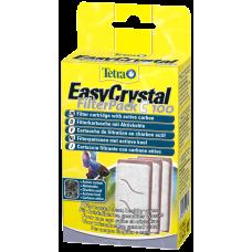 Tetra EasyCrystal Filterpack C 100 - подходящ за аквариумния филтър Tetra Cascade Globe Aquarium, с активен въглен - 3 бр