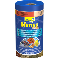 Tetra Marine Menu - разнообразие от 4 специално формулирани морски хранителни продукта гарантира добре балансирано хранене за всички морски риби - 250 мл