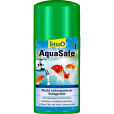 Tetra Pond AquaSafe - прави водата от чешмата безопасна за риба и надеждно защитава рибата и растенията в езера от вредни вещества - 500 мл