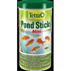 Tetra Pond Sticks Mini - пълноценна храна на гранули за ежедневно хранене на всички по-малки езерни риби с размери до 15 cm. Оптималният хранителен състав осигурява цялостно, биологично балансирано хранене - 1 литър