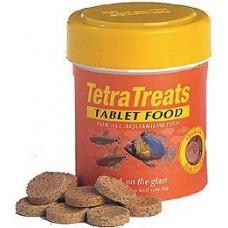 Tetra Treats е храна за риби на таблетки, съдържаща скариди, ларви на пиявици и тубифекс - 75 таблетки