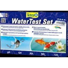 Tetra WaterTest Set - комплект за тест за вода за надеждно и точно определяне на пет решаващи стойности на водата