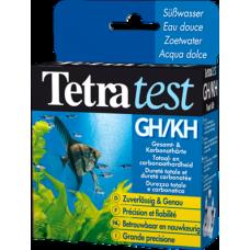 Tetra Test GH/KH - измерване на общата твърдост в сладководен аквариум и карбонатната твърдост KH в сладководен или соленоводен аквариум - 2 х 10 мл
