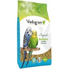 Vadigran Original Budgies - пълноценна храна за вълнисти папагали 1 кг, Белгия - VG171