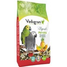 Vadigran Tropical Parrot - пълноценна храна за големи папагали - тропическа - 650 гр, Белгия - VG431