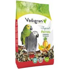 Vadigran Tropical Parrot - пълноценна храна за големи папагали - тропическа - 2,5 кг, Белгия - VG432