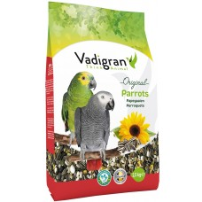 Vadigran Original Parrot - пълноценна храна за големи папагали 2,5 кг, Белгия - VG452