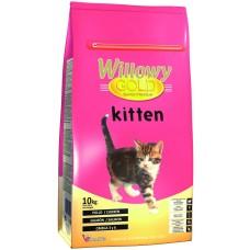 Willowy Gold Kitten - премиум храна за подрастващи котенца от всички породи, до 1 година, с пилешко месо, Испания - 10 кг