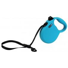 Alcott Wanderer Retractable Leash - автоматичен повод Пътешественик, СИН, размер L - дължина на повода 4,8 м - подходящо за кучета до 50 кг WRLBE