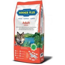 WinnerPlus Adult holistic - холистична храна за пораснали, чувствителни кучета със специфични хранителни изисквания, БЕЗ ЗЪРНО, за всички породи, Германия - 12 кг