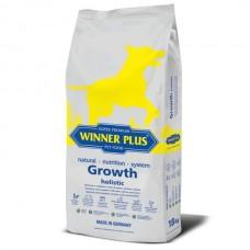 WinnerPlus Growth holistic - холистична храна за подрастващи кученца БЕЗ ЗЪРНО, за всички породи, Германия - 18 кг