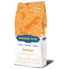 WinnerPlus Super Premium Junior - пълноценна храна за подрастващи кученца от 3 до 20 месеца, от всички породи, Германия - 18 кг
