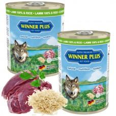 WinnerPlus Super Premium Menu lamb and rice - консерва с агнешко месо и ориз е пълноценна храна за кучета от всички породи, Германия - 800 гр