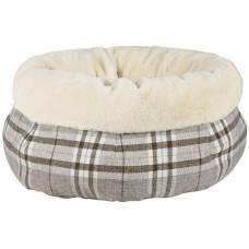 Pet Brands Tweedy Cosy Bed - Легло Туити, кръгло 53 см, Англия - XMASF05