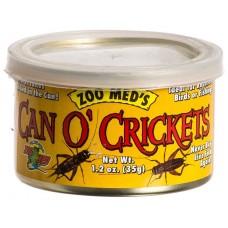 Zoo Med Can O' Crickets консервирани щурци 35 гр(60бр)