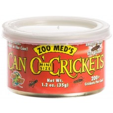 Zoo Med Can'O Crickets Mini – консервирани мини щурци, 35 гр. (200 бр.)