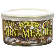 Zoo Med Can'O Меаlies - консервирани мини брашнени червеи 35 гр за малки гущери, костенурки, земноводни, птици или тропически риби